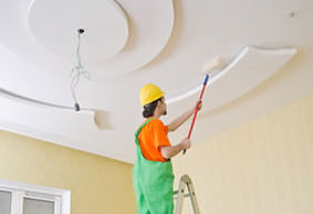 james river painter painting a ceiling white