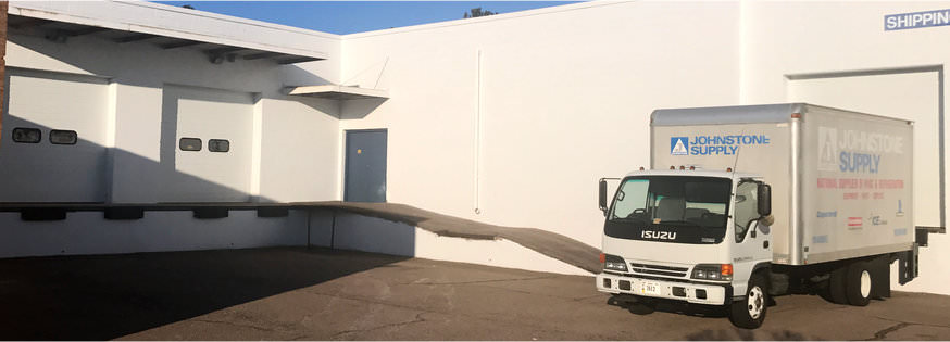 loading dock after new paint